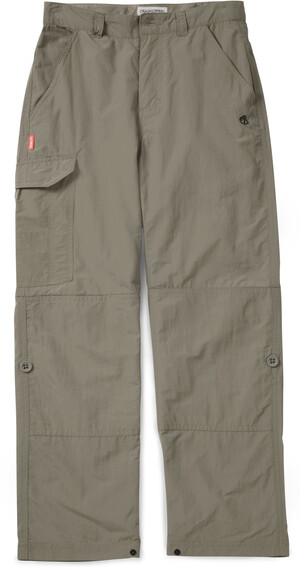 Craghoppers NosiLife Cargo Trousers Boys Pebble